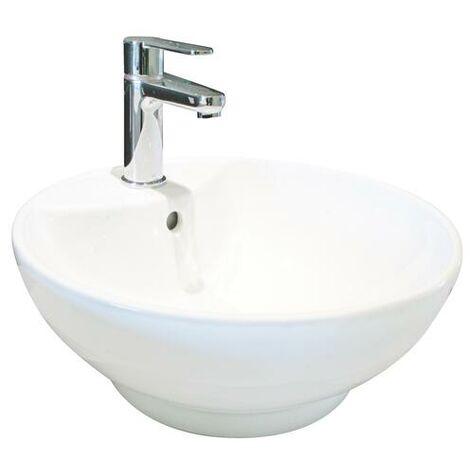 Lavabo de ceramica PORTOFINO Dimensiones : 52X41,5X16 cm - Aqua +