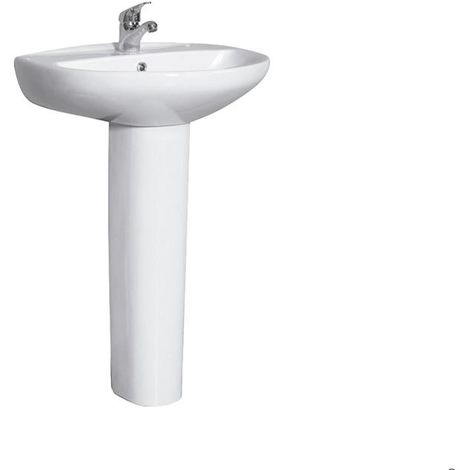 Lavabo de Pedestal - IDEAL