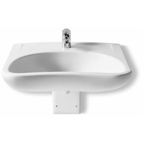 Lavabo de porcelana suspendido - Serie Access , Color Blanco - Roca