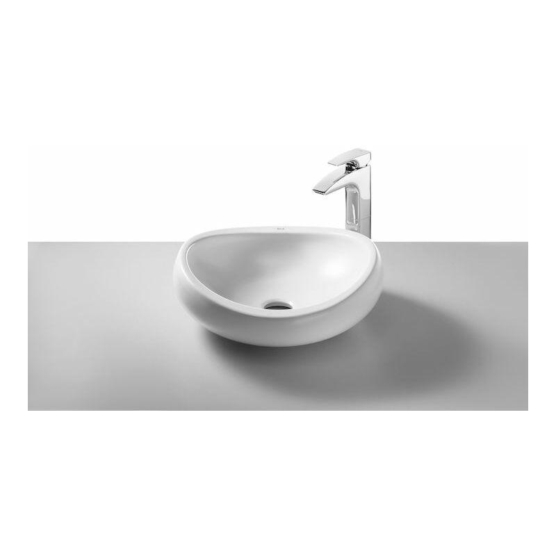 Lavabo Urbi 1 De Roca.Lavabo De Sobre Encimera Urbi 1 En Acabado Blanco A327225000