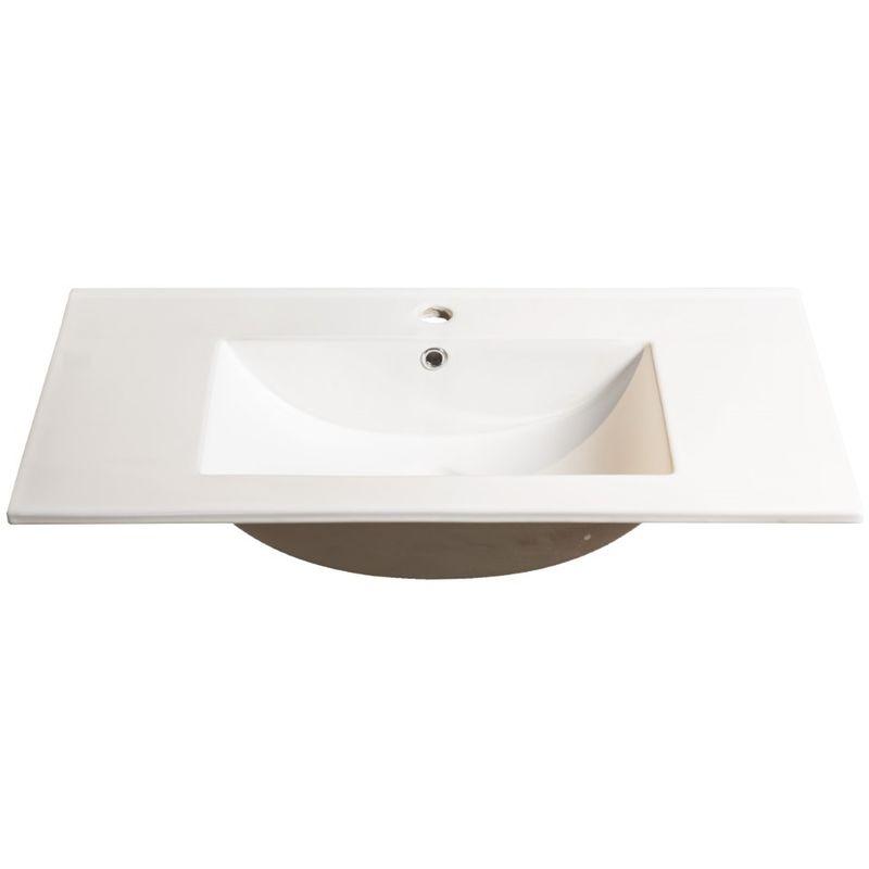 Lavabo Design Moderno Da 100 Cm Arredo Bagno Savini M