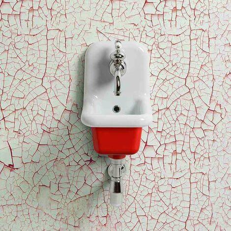 Lavabo école en céramique émaillée 26 cm True Colors - Rouge