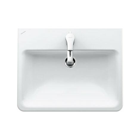 Lavabo empotrado Laufen PRO S, 1 agujero para grifo, con rebosadero, 560x440, blanco, color: Blanco - H8189630001041