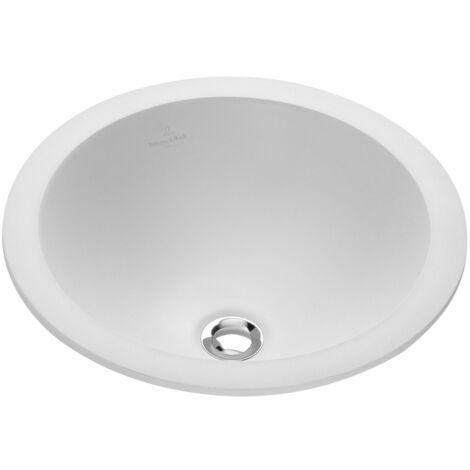 Lavabo empotrado Villeroy und Boch Loop & Friends 614045 450mm diámetro, blanco, color: Blanco - 61404501