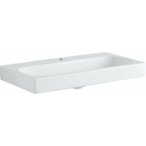 Lavabo Geberit Citterio 500547011, sin rebosadero, 900x500mm, blanco con KeraTect - 500.547.01.1
