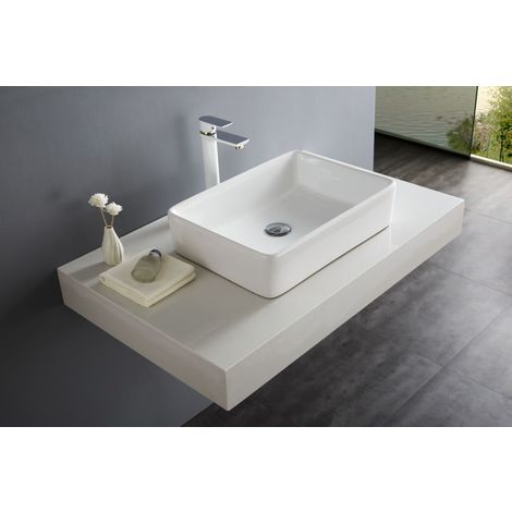 Lavabo / lavamanos para apoyar NT3153 - 52 x 38 cm
