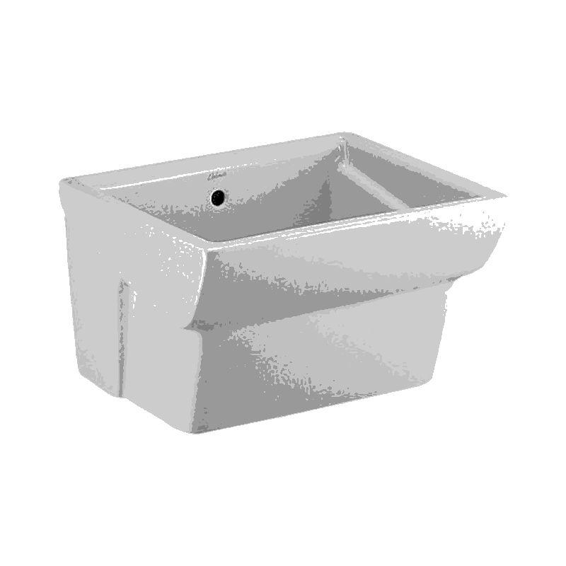Lavelli In Ceramica Dolomite.Lavabo Lavandino Lavatoio Sospeso 75 X 61 Cm Ceramica Dolomite Messico 1 Scelta