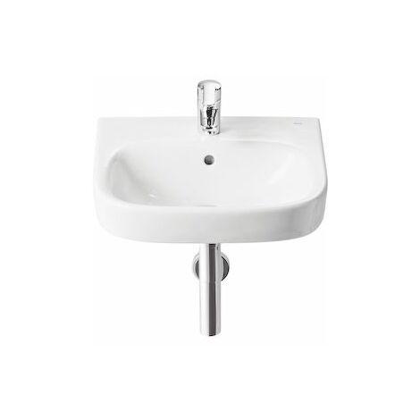 ROCA Lavabo de porcelana suspendido - Serie Debba, Color Blanco
