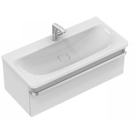 Lavabo para muebles Ideal Standard Tonic II, IdealFlow, 1015mm, K0872, color: Blanco - K087201
