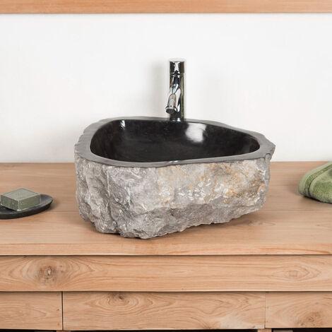 lavabo sobre encimera grande para cuarto de baño ROCA de mármol ...