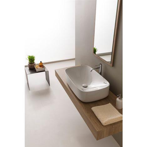 lavabo sobre encimera Scarabeo Moon 70 5502