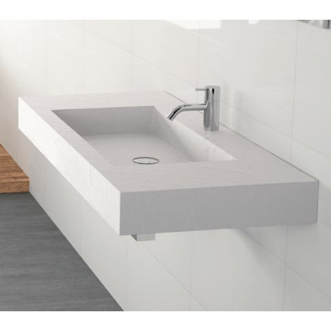 Lavabo suspendido Piedra NEW YORK Easy