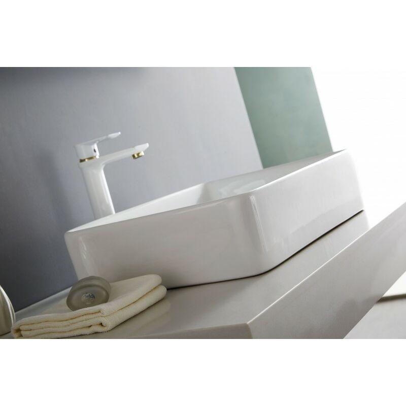 Lavabo Vasque à Poser Nt3153 52 X 38 Cm