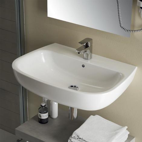 Lavamani sospeso Ideal Standard Esedra cm 45 adatto per bagni piccoli