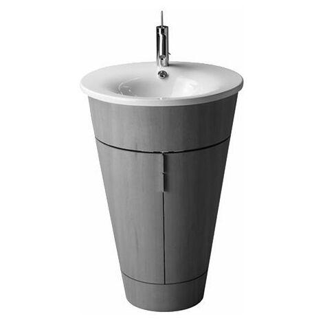 Lavamanos Duravit Starck 1 58cm, para la subestructura del lavabo, color: Blanco - 0406580000