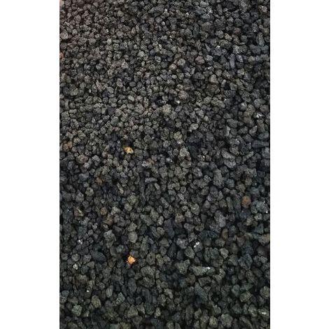 Lavamulch schwarz - 250 Kg