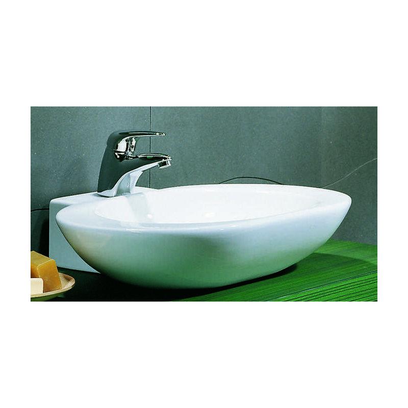 Lavandini Da Bagno Da Appoggio : Lavandino da appoggio moderno in ceramica arrotondato per mobile
