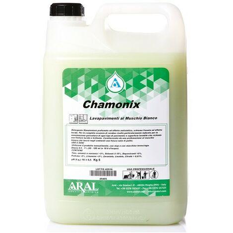 Lavapavimenti Concentrato per la Casa Chamonix Muschio Bianco Professionale Aral