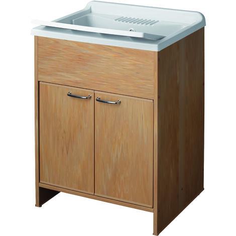 Lavandino Per Esterno In Plastica.Lavatoio In Resina In Kit Cm 60x50 Per Interni Esterni Con