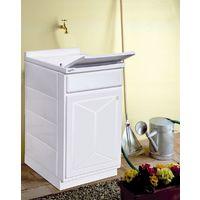 Lavatoio interno o esterno 45x50 cm con 1 anta vasca e asse lavapanni offerta