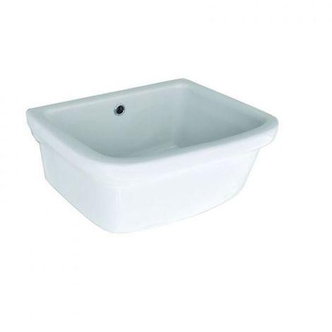 Lavatoio In Ceramica Per Lavanderia.Lavatoio Pilozzo Pilozza Lavapanni In Ceramica Lavanderia Cm 45x36