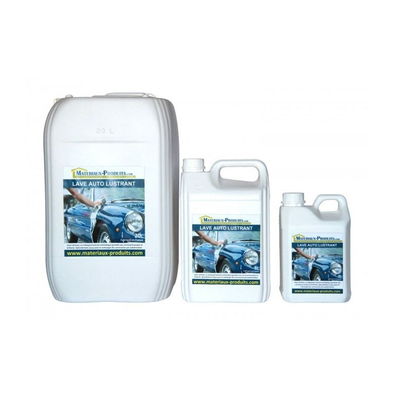 Matpro - Lave auto lustrant - 220 L Transparent