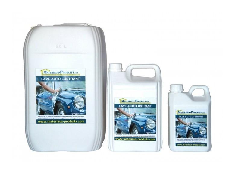 Lave auto lustrant - 20 L Transparent