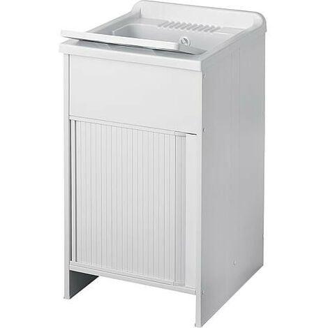 lave main avec meuble avec portes coulissante LxlxH: 500x500x850mm