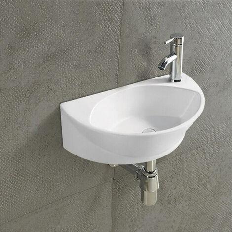 Lave main Ovale - Céramique - 40x29 cm - Elipse
