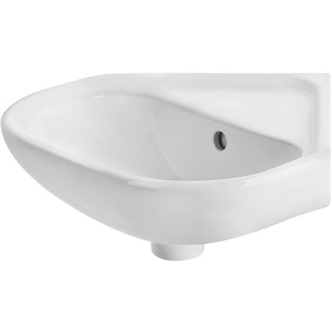 Lave-mains angle 45cm ROCA POLO - Blanc