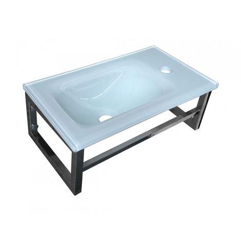 Lave-mains Blanc - L'élégant - 17 cm x 45 cm (HxL)
