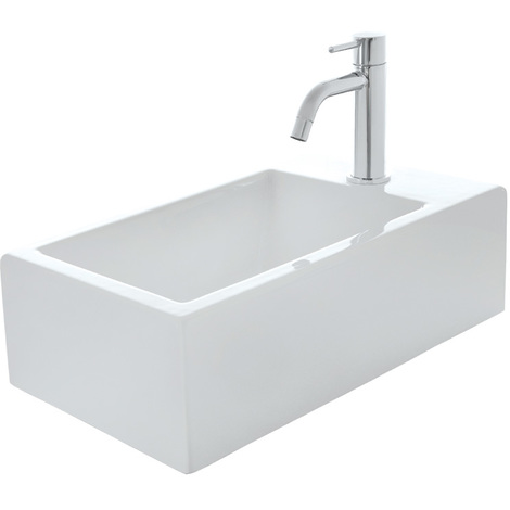 Lave-mains céramique blanc brillant HOX MINI - Ondyna WHX4509