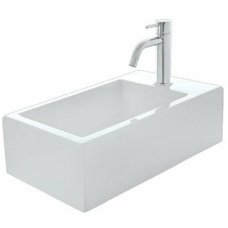 Lave mains céramique Hox Mini Blanc Mat - CRISTINA ONDYNA WHX450924