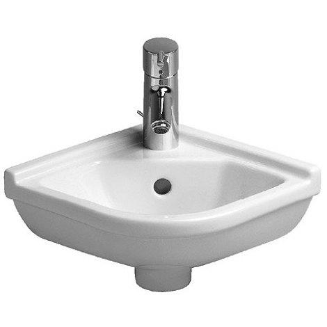 Lave-mains d'angle Duravit Starck 3 430 mm - Blanc