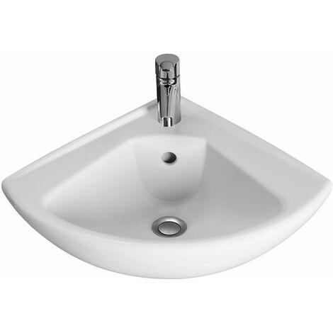 Lave-mains d'angle O. NOVO COMPACT - Couleur: BLANC