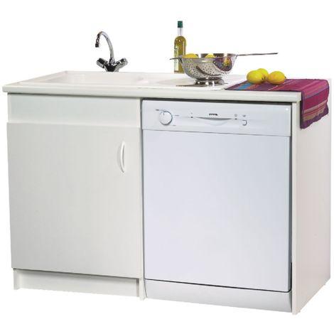 lave vaisselle avec joue m lamin blanc 1 porte. Black Bedroom Furniture Sets. Home Design Ideas