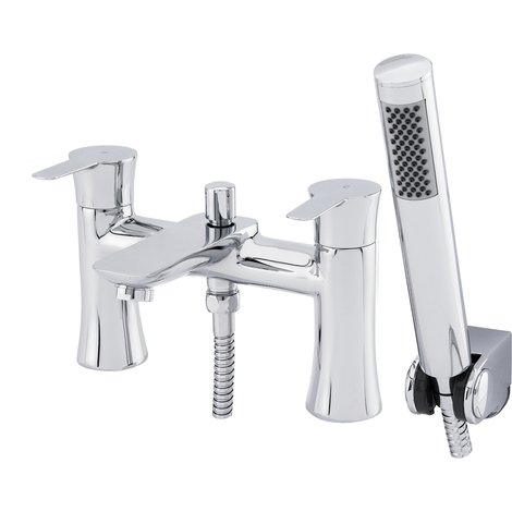 Lavell Bath Shower Mixer & Shower Kit