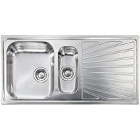 Lavello COMETA 100x50 2 vasche + gocciolatoio