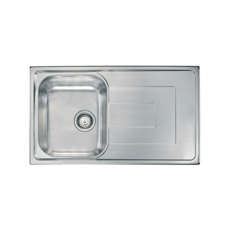 Lavello COMO 86X50 1 vasca + gocciolatoio ACCIAIO INOX