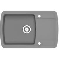 Lavello cucina 2 vasche granito vetroresina al miglior prezzo
