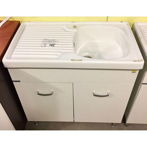 Lavello Lavabo senza Mobiletto Cucina Casa Eliseo 80x45 Ceramiche Affatato