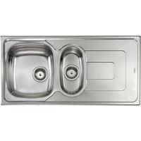 Lavello PIZZICA 100X50 2 vasche + gocciolatoio