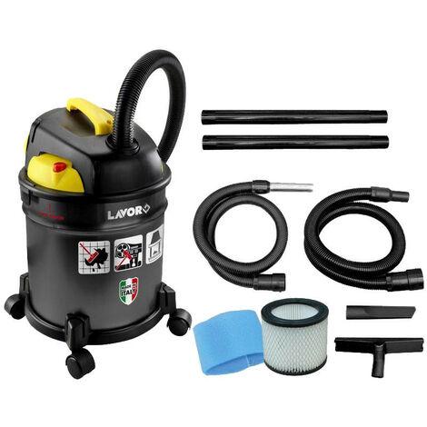 Lavor - Aspirador en seco y húmedo de acero inoxidable 1000W 180 mbar 30L - Vac 30 S