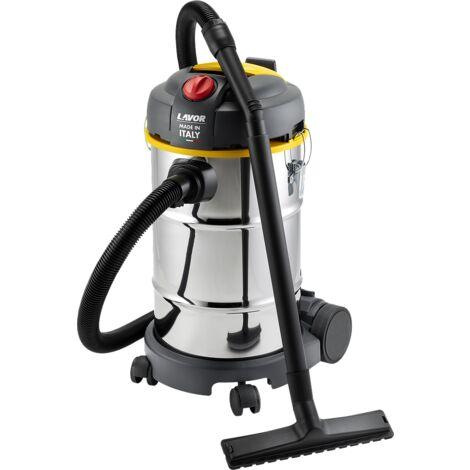 Lavor - Aspirador en seco y húmedo de acero inoxidable 800W 30L 220 mbar - WT 30 X