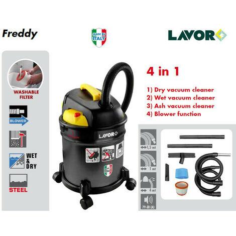 Lavor - Aspirateur 4 en 1 (cendre, poussière,eau et fonction soufflerie) 1000W 20L 35L/s - FREDDY - TNT