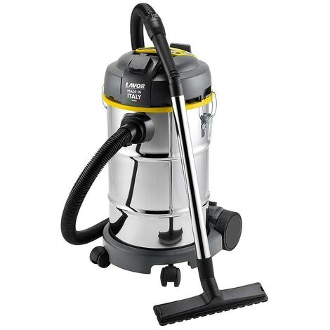 Lavor - Aspirateur eau et poussières 1400W 30L 70L/s (PRISE OUTILS) - WT 30 XE - TNT