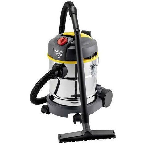 Lavor - Aspirateur eau et poussières en acier inoxydable 800W 20L 60L/s - WT 20 X
