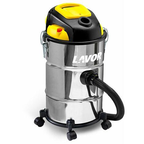 Lavor - Aspirateur eau et poussières inox 1000W 180 mbar 30L - Vac 30 S