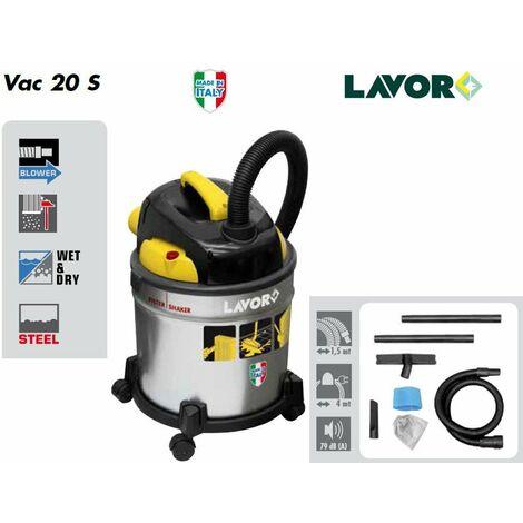 Lavor - Aspirateur eau et poussières (+ souffleur) 1000W 20L 30L/s 180 mbar - 18 kPa - VAC 20 S - TNT