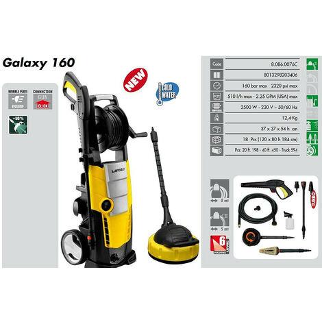 Lavor - Limpiador de alta presión 160 Bars 2500W 510L/h con múltiples ACCESORIOS - GALAXY